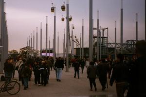 Blick über die EXPO-Brücke