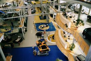 Das Innenleben eines modernen Autohauses