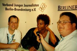 Jörg Wachsmuth / Worthy Davis / Andreas Kolbe (v.l.)